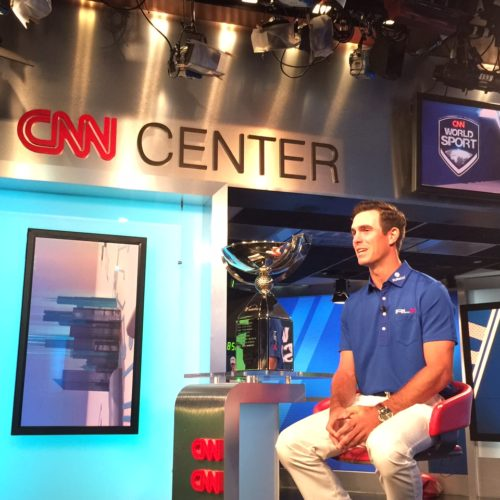 Billy Horschel at CNN Center