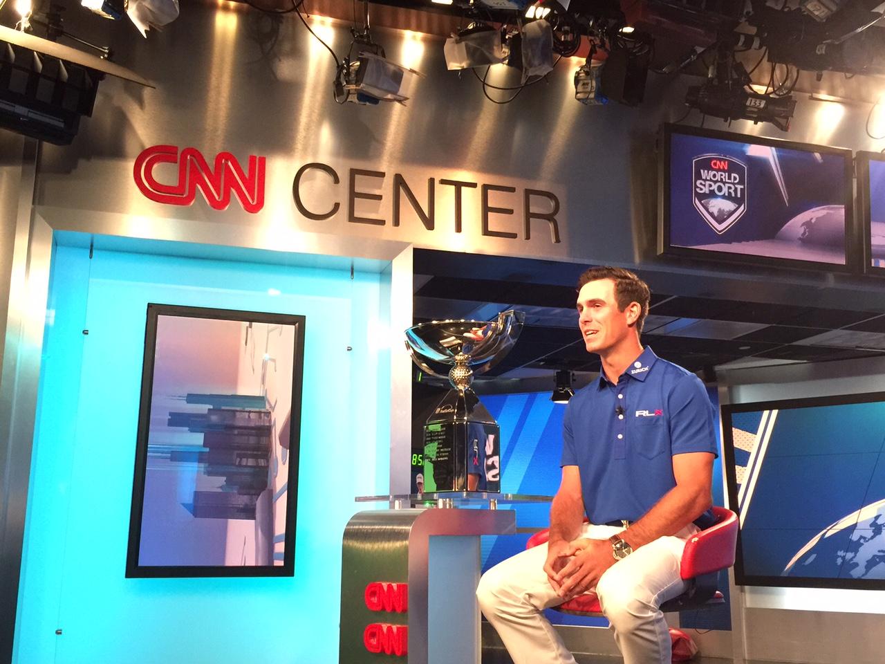 Billy Horschel at CNN Center